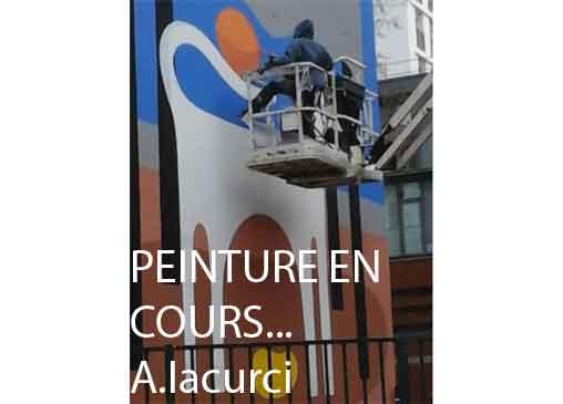 ART URBAIN  à voir, 2 avenue Marc Sangnier