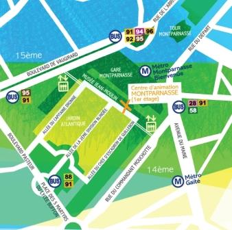 POT DES LECTEURS Au centre Paris Anim' Montparnasse