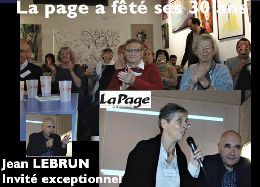 LA PAGE A FÊTÉ SES 30 ANS …le 6 décembre