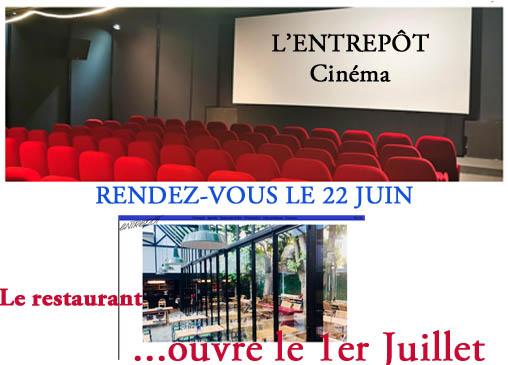 RÉOUVERTURE DE L'ENTREPÔT…