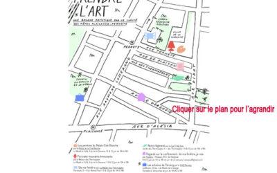PRENDRE L'ART à partir du 5 juin de 10h à 18h